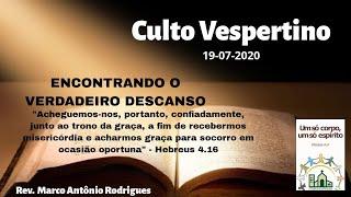 ENCONTRANDO O VERDADEIRO DESCANSO - Hebreus 4.14-16