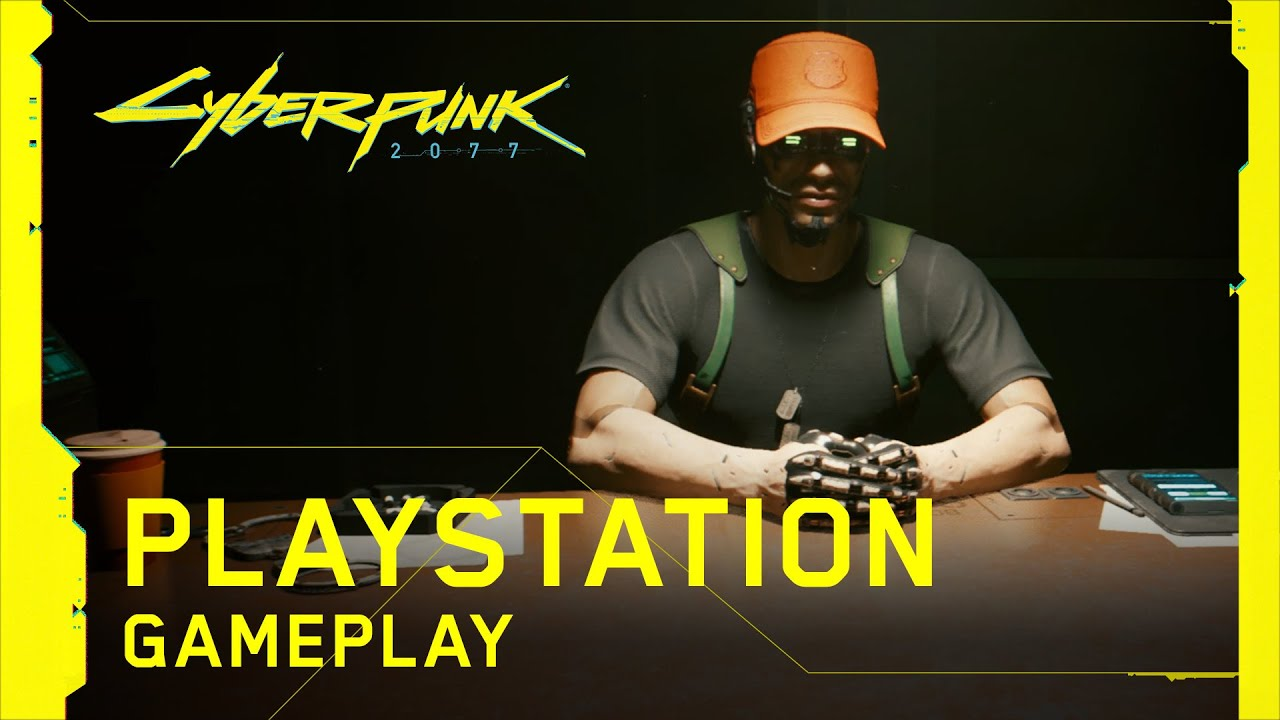 Cyberpunk 2077 PlayStation Gameplay Released!