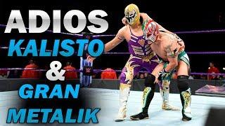KALISTO & GRAN METALIK SE VAN DE WWE