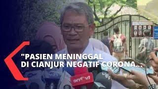 Kementerian Kesehatan Pastikan Pasien yang Meninggal di RS Cianjur Negatif Corona
