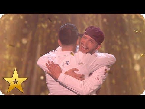 Twist and Pulse get Alesha's Golden Buzzer! | BGT: The Champions