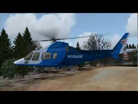 NEMETH DESIGNS - AGUSTA WESTLAND AW109 FSX HD 1080p