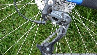 Настройка заднего переключателя велосипеда(Краткое руководство по настройке заднего переключателя велосипеда. Переключатель - Shimano rd-m390 sgs ☆ Подключа..., 2015-07-01T19:00:50.000Z)