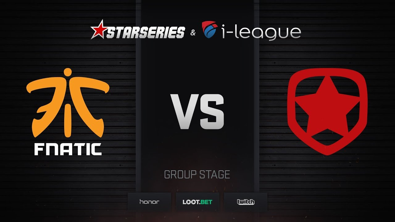 fnatic vs Gambit, map 1 inferno, StarSeries i-League Season 4 Finals