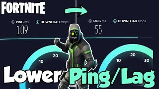 How To LOWER PING in FORTNITE! - Fix Ping/Lag in Fortnite on PS4 Xbox & PC!