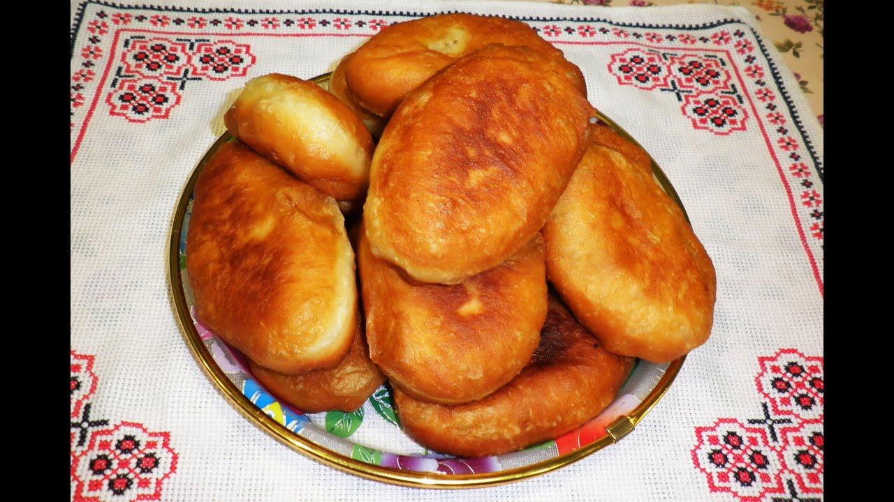 Пирожки с мясом / Жареные пирожки с мясом / Смажені пиріжки з м'ясом .