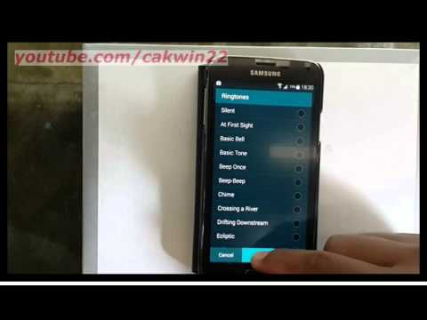 Samsung Galaxy S5 : How to add mp3 ringtone (Android Phone)