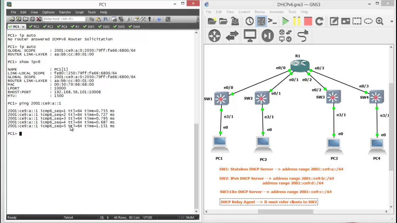 ccnp switch lab manual all with gns3 ipv6 dhcp youtube rh youtube com Network Topology Examples Network Simulator