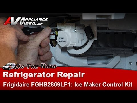 Electrolux Frigidaire Refrigerator -Ice Maker Control Kit, Repair and Diagnostic FGHB2869L