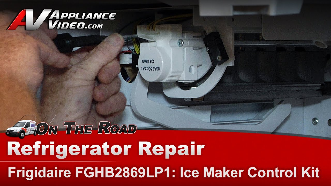 Electrolux Frigidaire Refrigerator Ice Maker Control Kit Repair And Diagnostic Fghb2869l