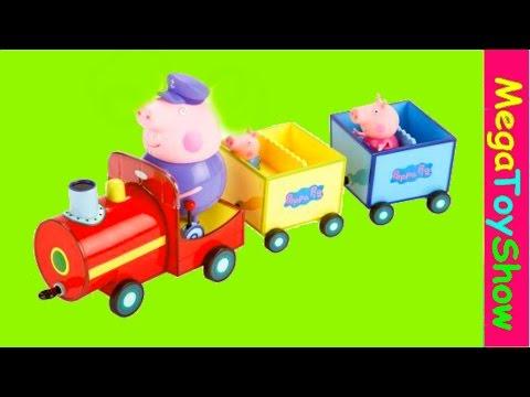 Unboxing Peppa Pig grandpa pig