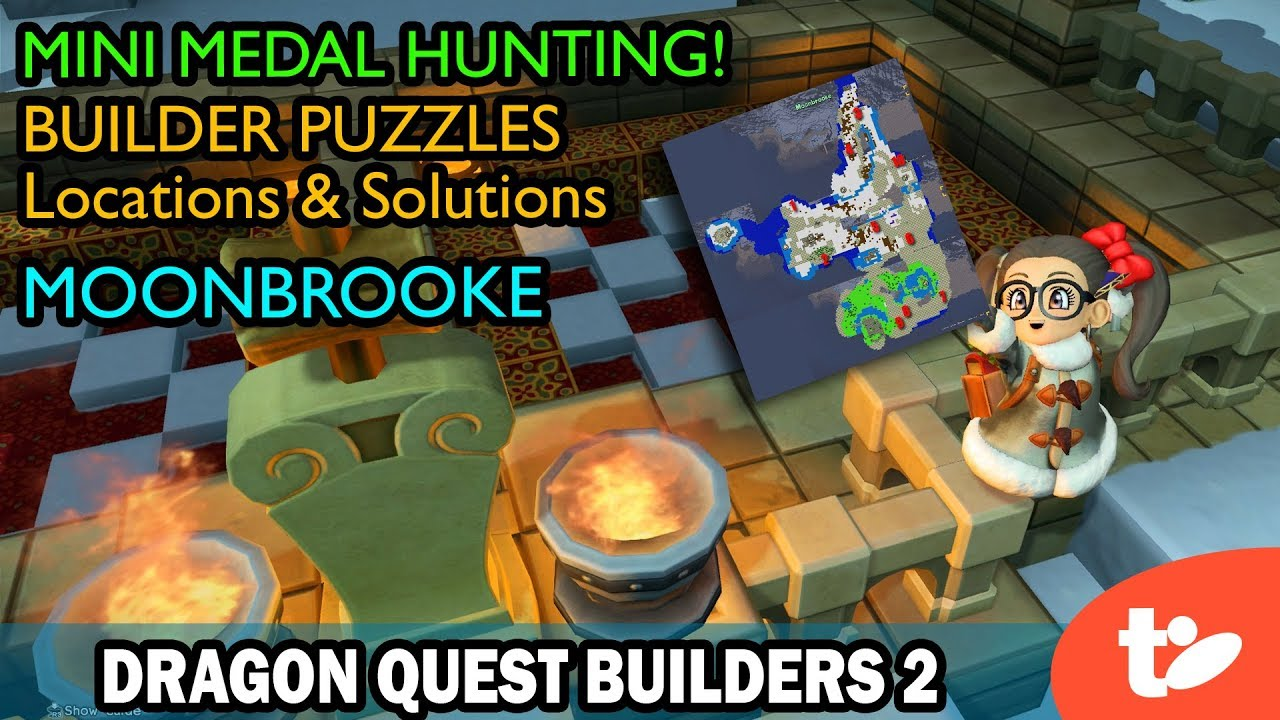 Dragon Quest Builders 2 Puzzle Guide and Mini Medal Locations