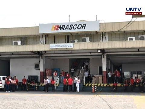 Ground handling contract ng MIASCOR, hindi na ni-renew ng Malacañang