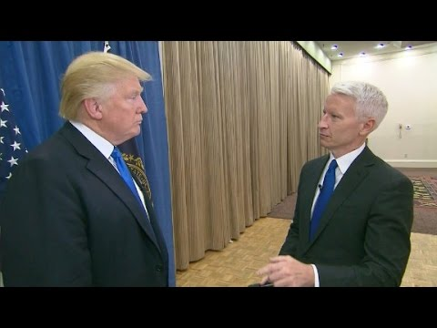 Thumbnail: Donald Trump's interview with Anderson Cooper (Part 1)