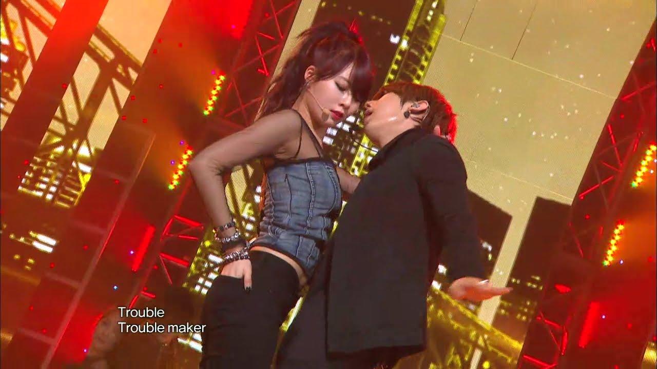 Download 【TVPP】Trouble Maker - Trouble Maker, 트러블 메이커 - 트러블 메이커 @ Music Core Live