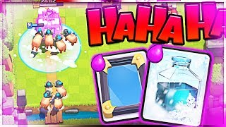 ROYAL HOG + FREEZE = MADNESS (Molt Clash Royale)