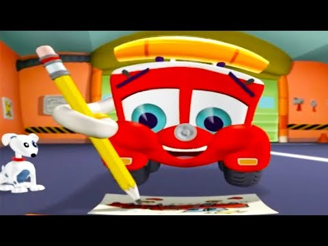 Finley The Fire Engine | Captain Parker's Birthday Present | Full Episode | Cartoons For Kids 🚒