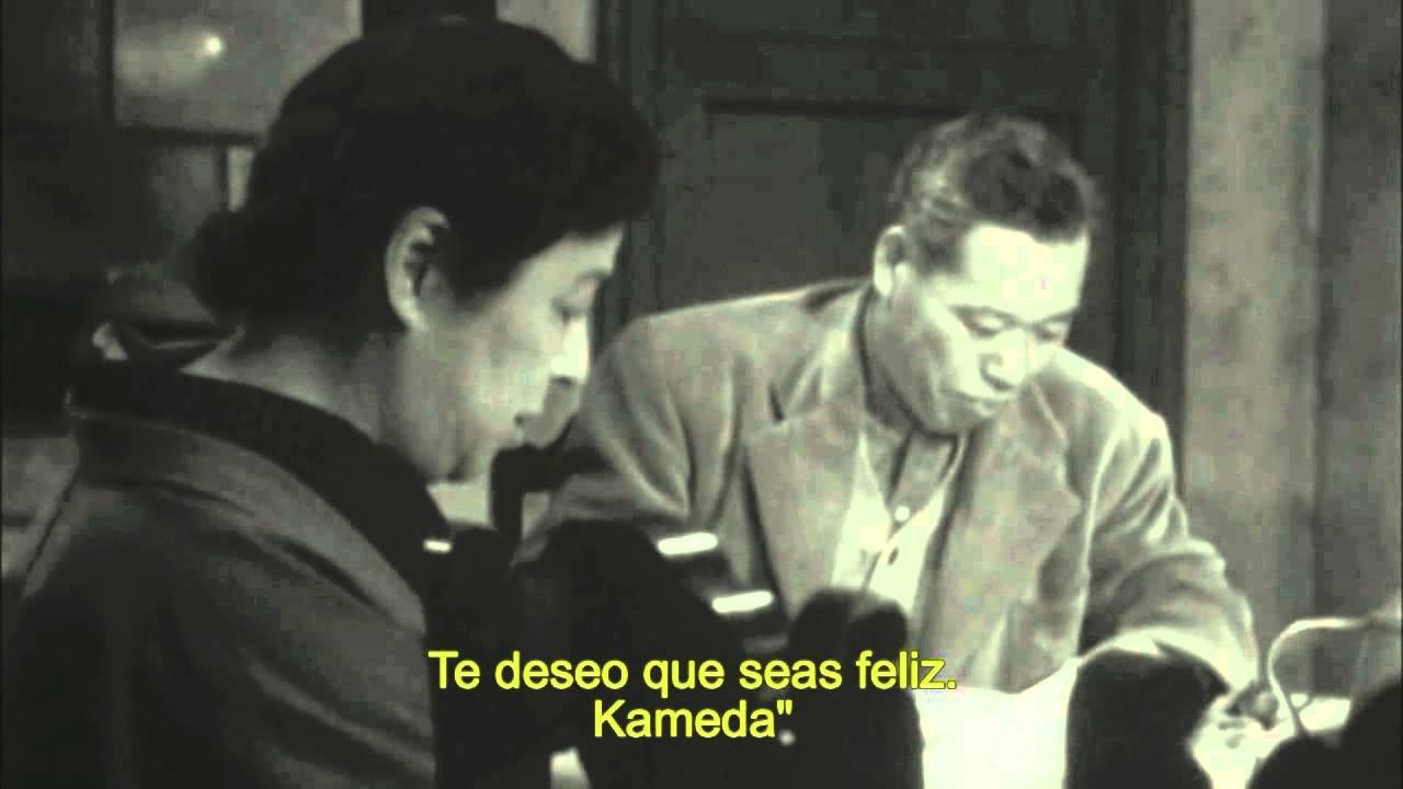 EL IDIOTA (1951, Akira Kurosawa).  La carta de un hombre sincero