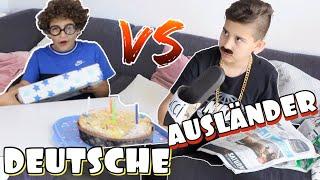 AUSLÄNDER vs DEUTSCHE - GEBURTSTAGSGESCHENKE 😂