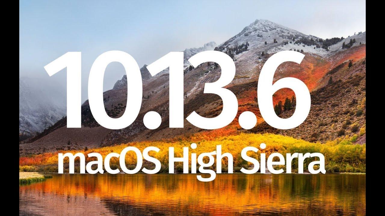 Macbook pro macos high sierra download dmg