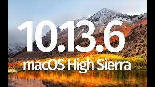 How to Update to macOS High Sierra 10.13.6 - MacBook , iMac , Mac Pro, Mac mini