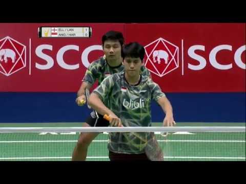 SCG Thailand Open 2017 | Badminton SF M3-MD | Ell/Lan vs Ang/Har
