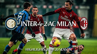 Highlights | Inter 4-2 AC Milan | Matchday 23 Serie A TIM 2019/20