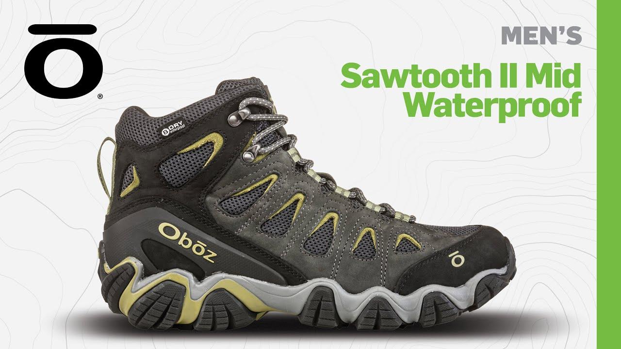 oboz sawtooth mid mens