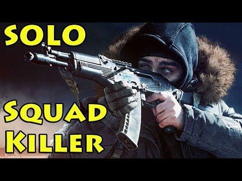 Solo Squad Killer! Epic Plays! - Escape From Tarkov