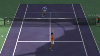 Tennis Masters Series 2003 Funtastic match