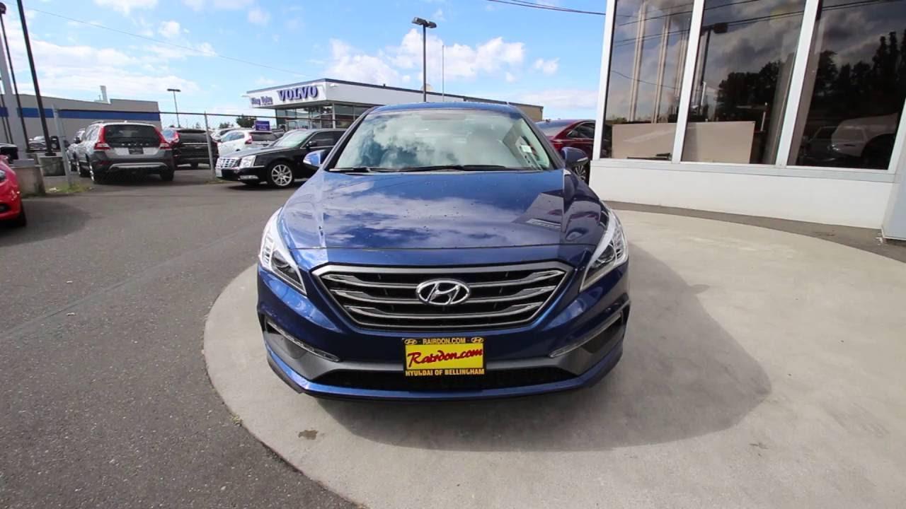 2017 Hyundai Sonata Sport Lakeside Blue Hh470840 Mt Vernon Skagit