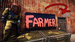 Онлайн рейд пожилого фармера на волоске! Раст Rust