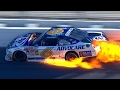 Trevor Bayne Crashes