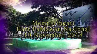 Lagu Indonesia Raya, Penampilan Drumband Kodim, Memperingati Peristiwa 10 November 2018