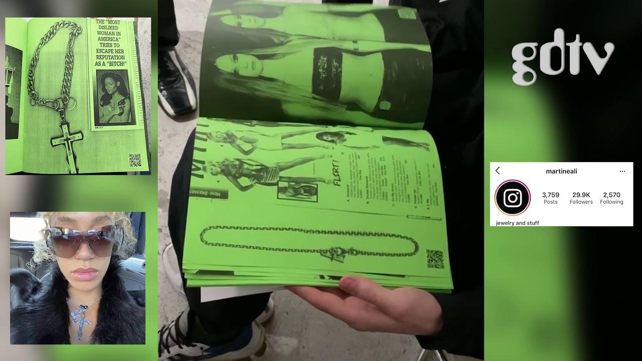 Martine Ali Showcases Jewelry In All Green Lookbook
