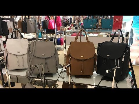 a63047494c5fd1 MK In Store Review: Michael Kors Evie Medium Backpack - YouTube