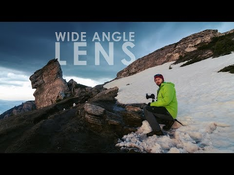 How to photograph with wide angle lens