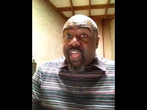 """Marvin Williams sings """"Redeemed."""""""