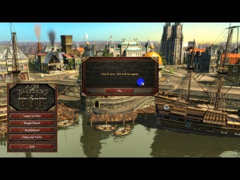 Fix Trading Post - Out Of Sync Age Of Empires III