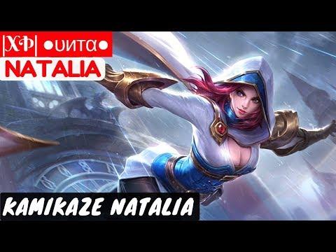 Kamikaze Natalia [Unta Natalia] | |XÞ| ●υитα● Natalia Gameplay And Build #9 Mobile Legends