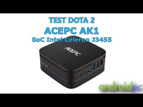 REVIEW: ACEPC AK1 a compact mini PC with Intel Celeron J3455 and 2 5