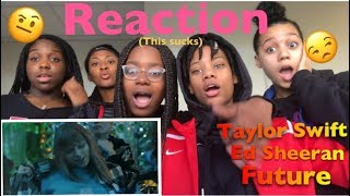 😱 TEENS react to Taylor Swift - End Game ft. Ed Sheeran, Future reaction is this song trash?