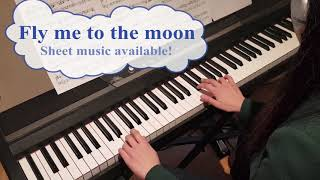Fly me to the moon - Swing with written piano solo (sheet music available)