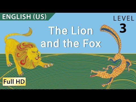 """The Lion and the Fox: Learn English (US) with subtitles - Story for Children """"BookBox.com"""""""