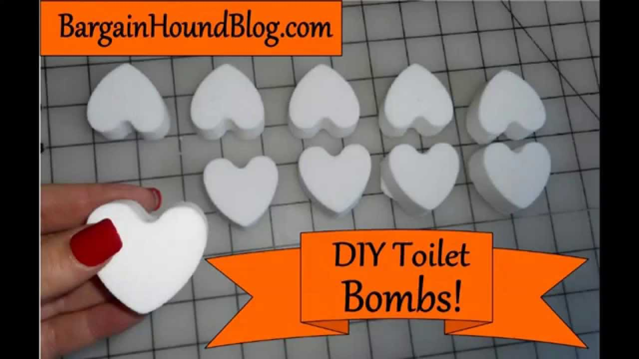 Diy toilet cleaning bombs tutorial youtube - Diy toilet cleaning bombs ...