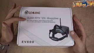 Eachine EV800 Visore a basso costo per FPV - Recensione