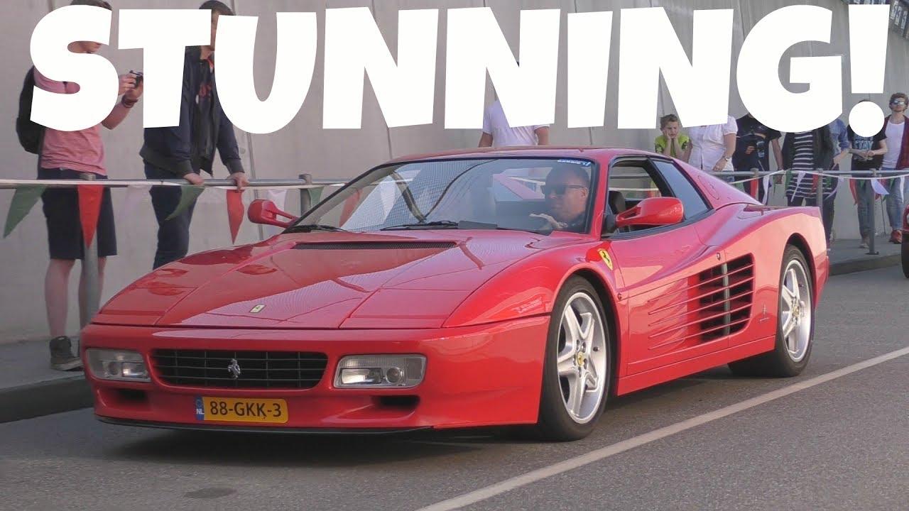 Ferrari 512 Tr Amazing V12 Symphony Youtube