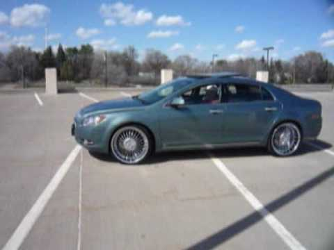 Worksheet. 2009 Chevrolet Malibu LTZ Skatin on 22s  YouTube