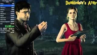 Harry Potter and the Deathly Hallows Part 1 any% in 2:16:02
