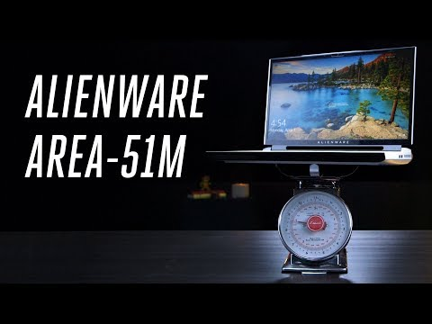 Alienware Area-51m review: an upgradeable behemoth